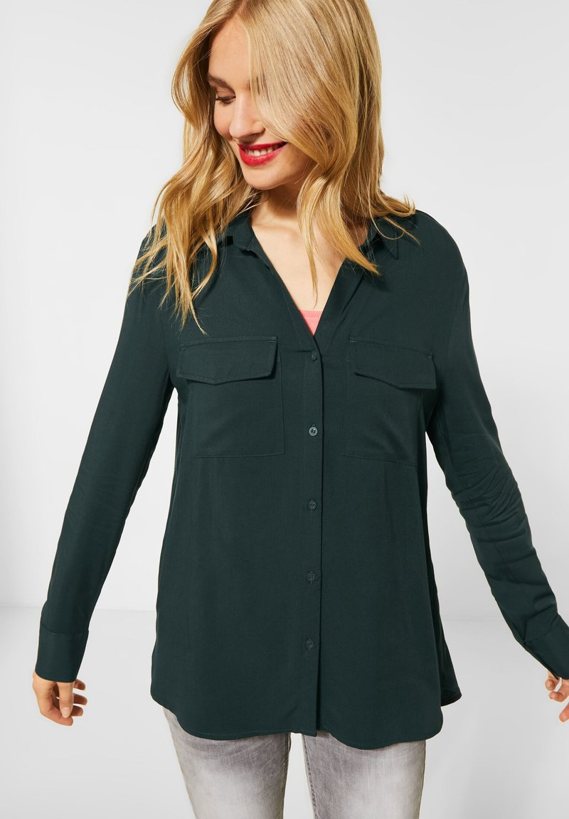 Street One - Button-down blouse - grün