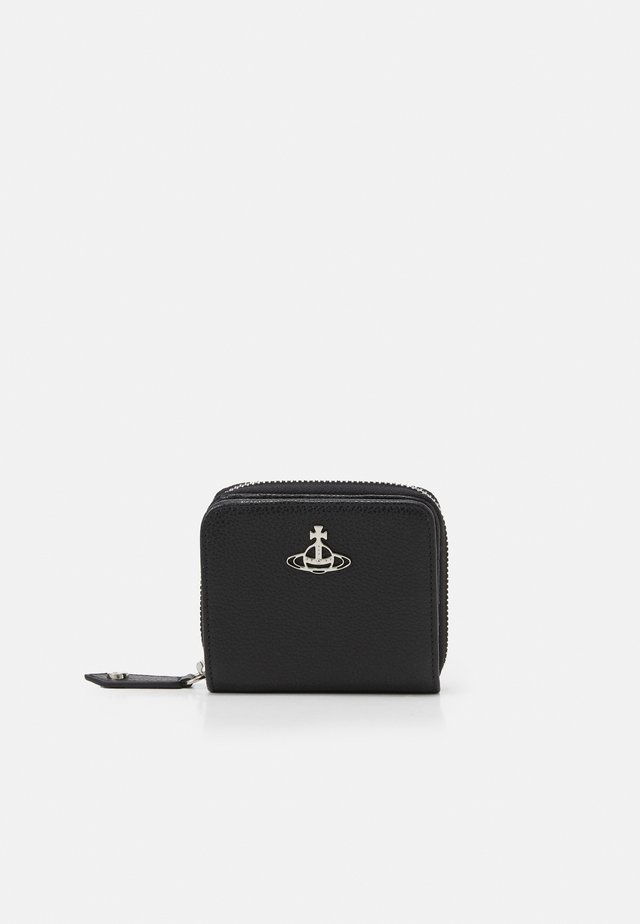 JORDAN MEDIUM ZIP WALLET - Monedero - black