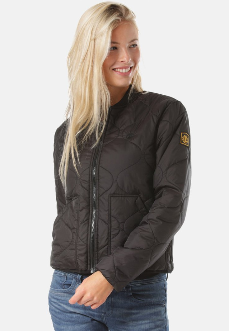 Element - NORTHWOODS  - Bomber Jacket - black
