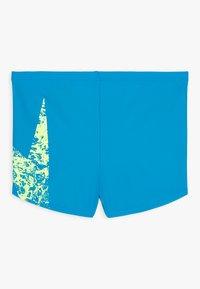 Speedo - BOOMSTAR PLACEMENT AQUASHORT - Swimming trunks - pool/fluorecent yellow - 1