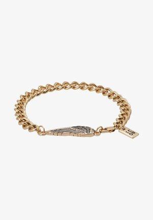 WING CHARM BRACELET - Armbånd - gold-coloured