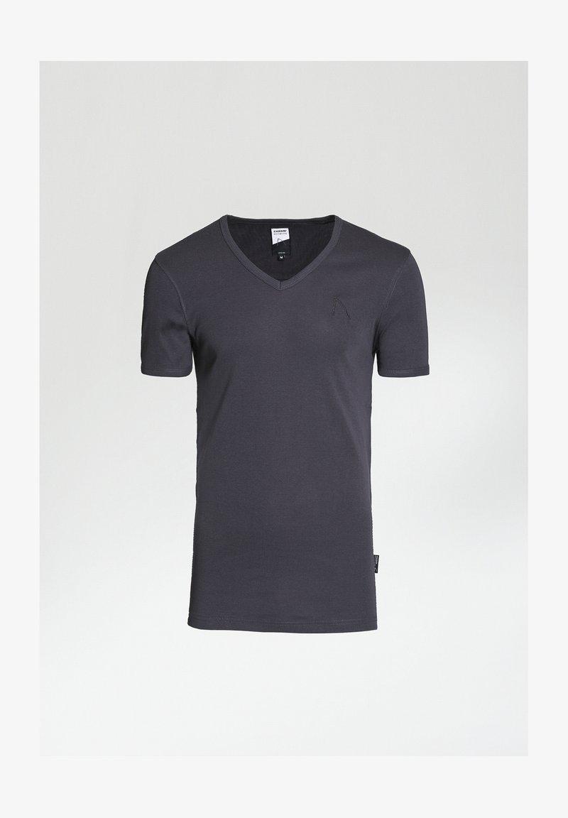 CHASIN' - Basic T-shirt - grey