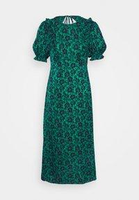 DAISY MIDI RUFF TEA - Day dress - green