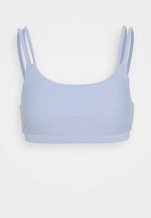 TWO STRAP SPORTY BRA - Bikiniöverdel - dusty blue