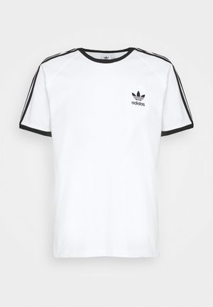STRIPES TEE - T-shirts med print - white