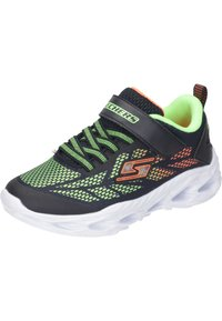 Skechers - Trainers - black/lime - 1