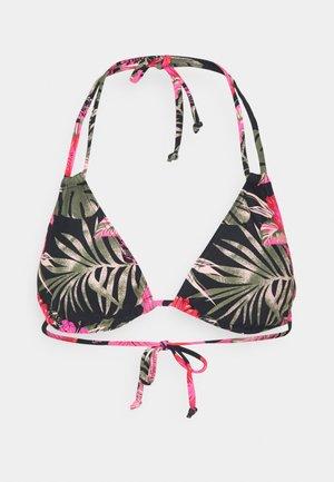 TRIANGLE - Bikini top - black