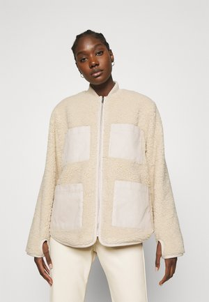 JACKER ROW - Bomber bunda - off white