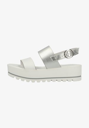 Wedge sandals - bianco