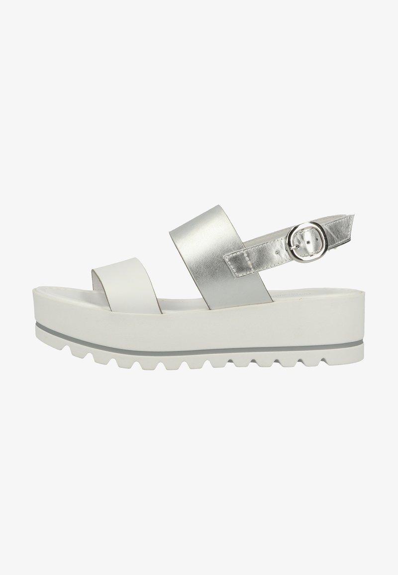 NeroGiardini - Wedge sandals - bianco