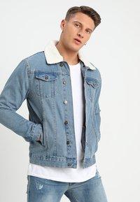 Brave Soul - MJK-LARSON  - Giacca di jeans - blue denim - 0