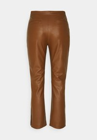 Pinko - TORRONE PANTALONE  - Trousers - brown - 1