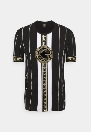 SANTAGO TEE - T-shirt con stampa - jet black