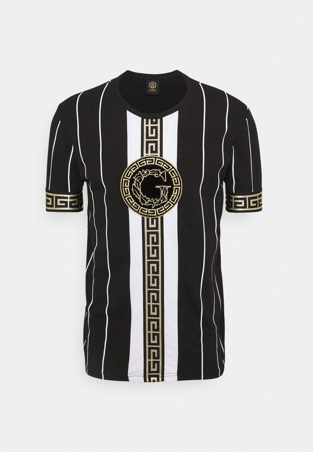 SANTAGO TEE - T-shirt print - jet black