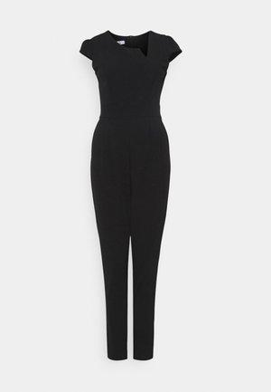 TULIN NECK CUT OUT - Tuta jumpsuit - black