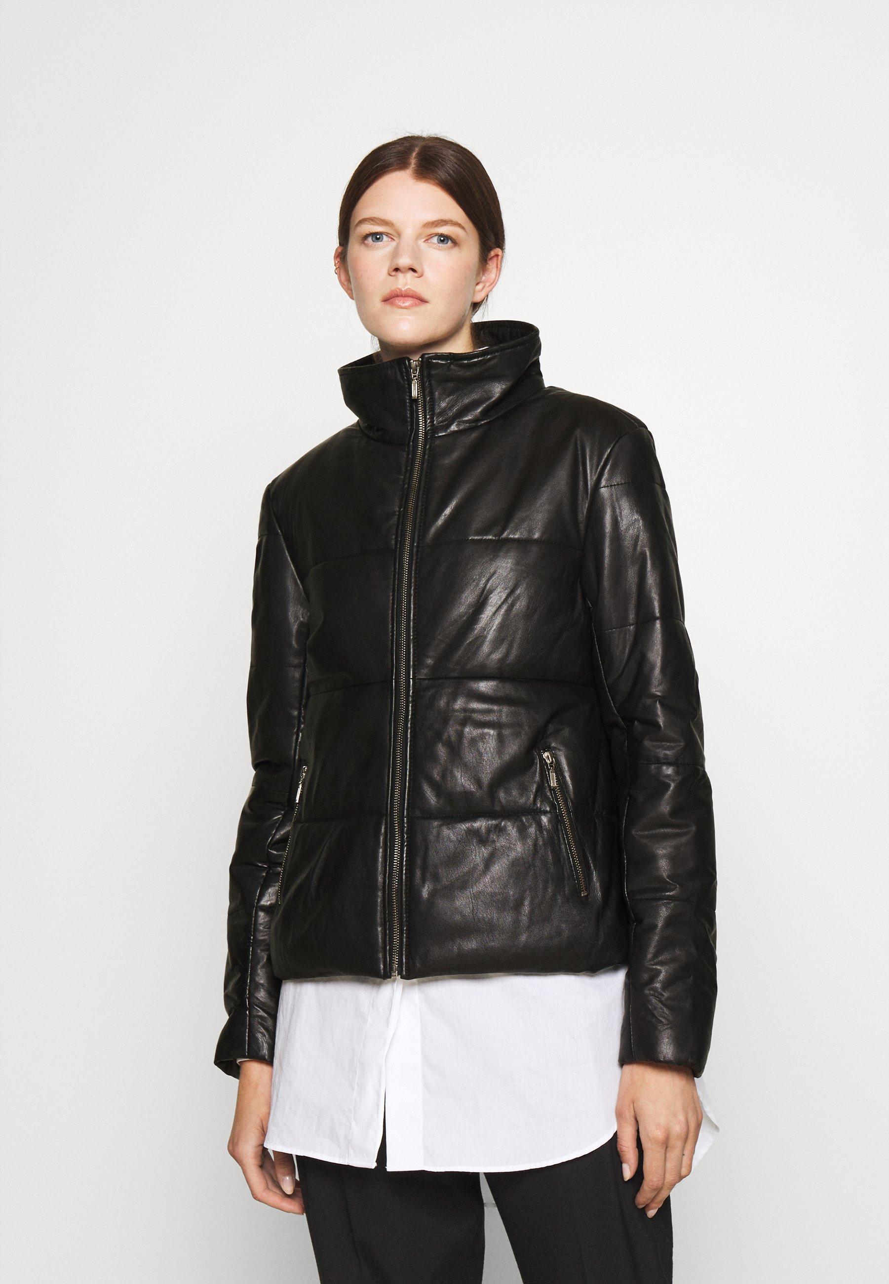 Women LYDIA PUFFER JACKET - Leather jacket