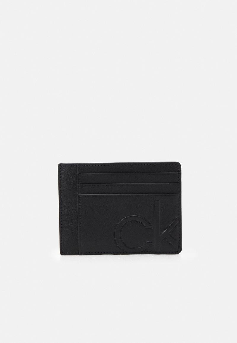 Calvin Klein - CARDHOLDER UNISEX - Wallet - black