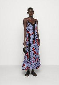 Hofmann Copenhagen - ANAIS  PRINT - Maxi dress - black - 1