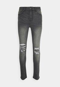 274 - PATCH - Skinny džíny - grey - 3