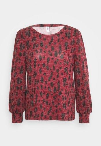 ONLSMILLA - Pullover - pomegranate