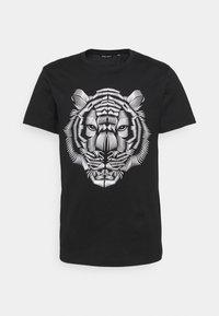 Antony Morato - SLIM FIT WITH DOUBLE LAYER - T-shirt print - nero - 4