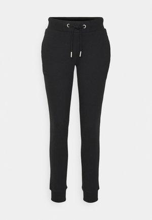 VINTAGE LOGO - Teplákové kalhoty - black