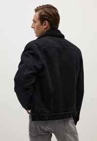 Mango - WASP - Veste en jean - black denim - 2