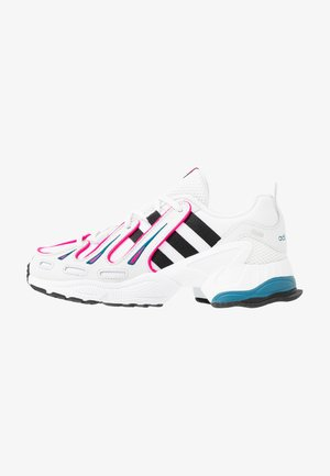 EQT GAZELLE - Sneakersy niskie - crystal white/core black/shock pink