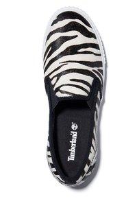 Timberland - Slip-ons - black and white zebra - 1