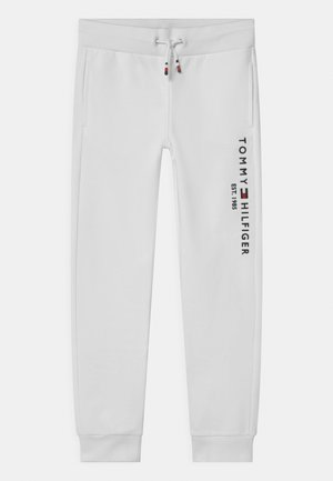 ESSENTIAL - Tracksuit bottoms - white