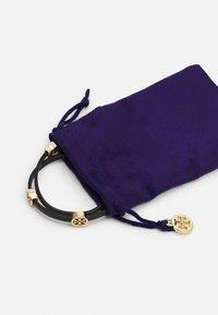 Tory Burch - MILLER DOUBLE WRAP BRACELET - Bracelet - gold-coloured/black - 2