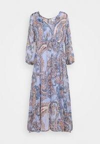 ADELINA DRESS - Vestito lungo - brunnera blue