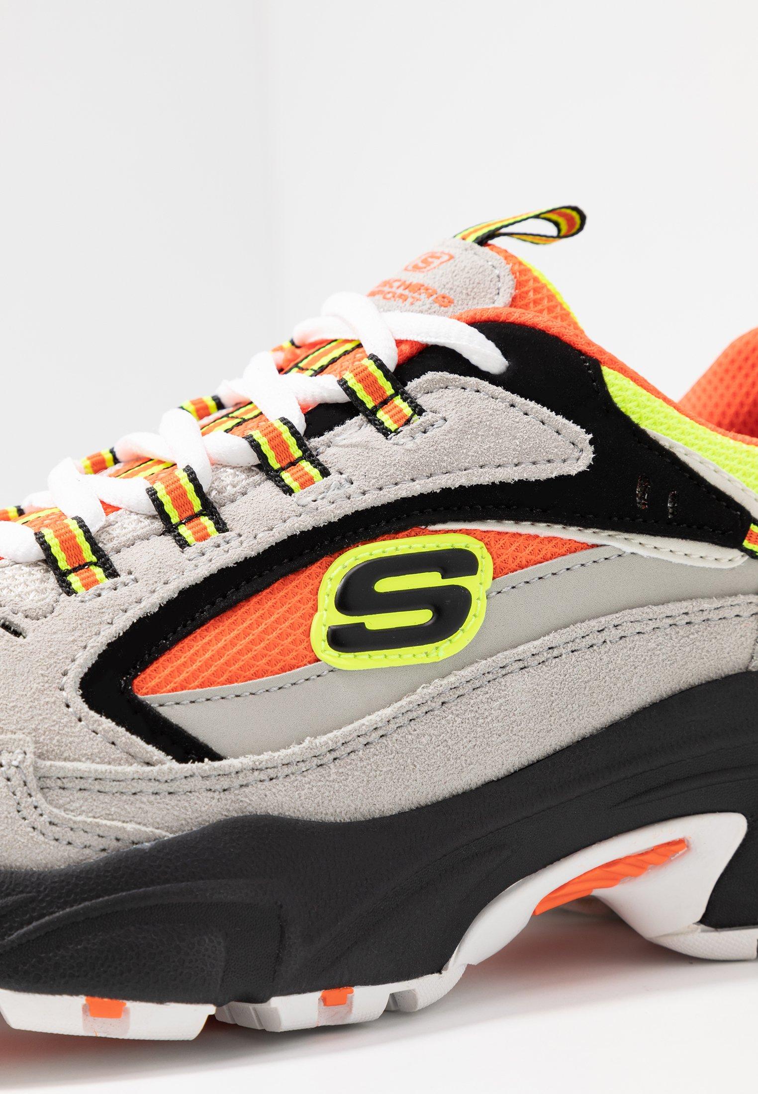 Skechers Sport STAMINA Joggesko grayorangeyellowblack