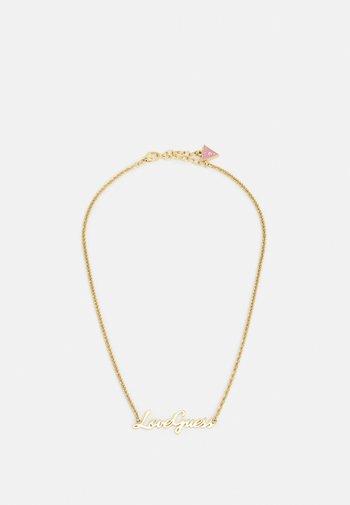 DREAM & LOVE - Halsband - gold-coloured