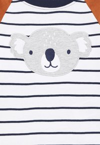 Carter's - KOALA STRIPE SET - Pantaloni sportivi - dark blue/brown - 3