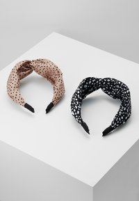 Pieces - PCDOTTY HAIRBAND - Hair Styling Accessory - rose-black - 3
