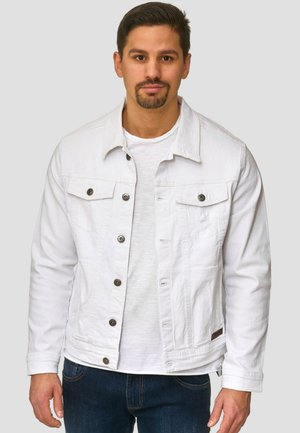 BRYNE - Denim jacket - off-white