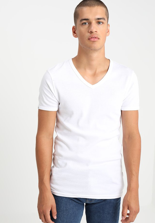 CAVE - T-paita - white