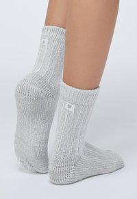 OYSHO - 2 PACK - Socks - light grey - 2