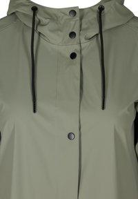 Zizzi - Waterproof jacket - green - 3