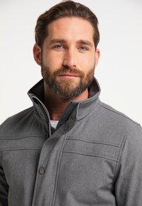Schmuddelwedda - Outdoor jacket - dunkelgrau melange - 3