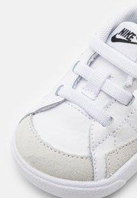 Nike Sportswear - BLAZER MID CRIB - High-top trainers - white/black - 5