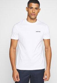 YOURTURN - UNISEX - T-shirt - bas - white - 3