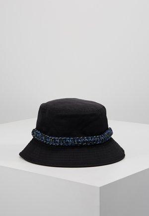 ROPE TRIM BUCKET HAT - Sombrero - black