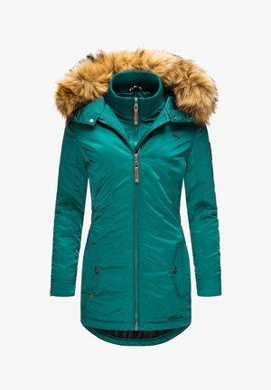 SANAKOO - Winter coat - ocean green