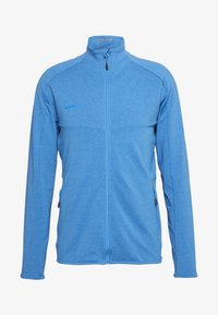 Mammut - NAIR JACKET MEN - Zip-up hoodie - gentian melange - 4