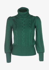 Luisa Spagnoli - MAGDALENA - Stickad tröja - verde bottiglia - 4
