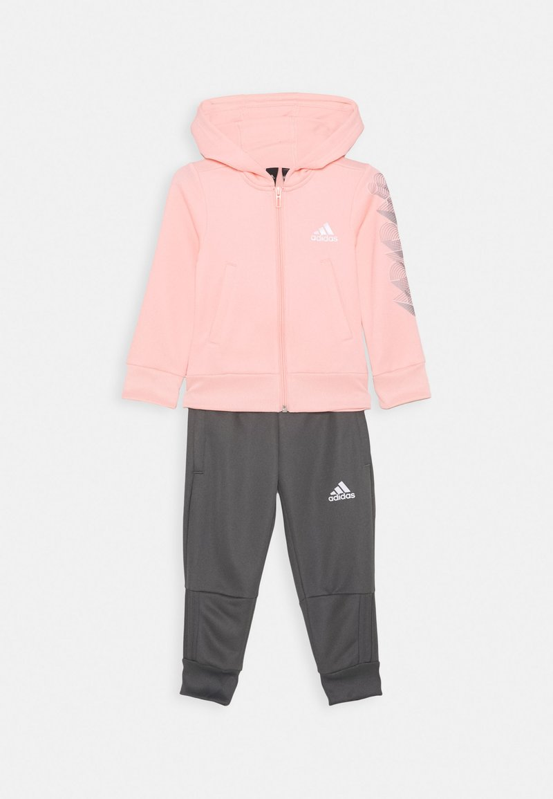 adidas Performance - HOODIE PES TRAINING SPORTS TRACKSUIT - Tracksuit - hazcor/white