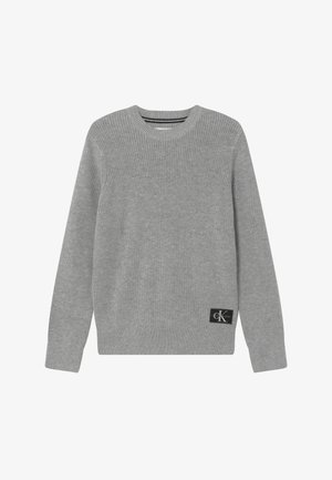 OCO REGULAR CREW - Jersey de punto - grey