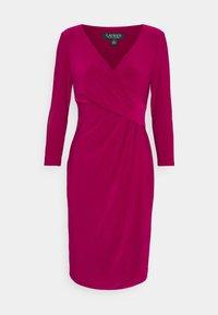 Lauren Ralph Lauren - MID WEIGHT DRESS - Shift dress - modern dahlia - 5